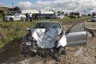 FLYING WHEEL: The aftermath of a flying truck wheel vs car in Bay of Plenty