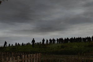 Screen shot from Dean Hall's hit game DayZ.