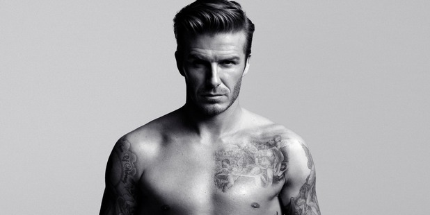 David Beckham is excited about his latest H&M Bodywear line.  Photo / Supplied