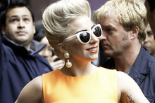 Lady Gaga has hit out at her critics after coming under fire from PETA. Photo / Richard Robinson
