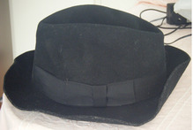 The hat's seller says it was caught at a Michael Jackson concert in Auckland in 1996. Photo / Supplied