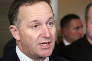 National leader Prime Minister John Key. Photo / Getty Images