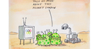 View: Cartoon: What Mars landing?