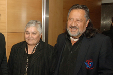 Maori Party co-leaders Tariana Turia and Pita Sharples. Photo / NZPA