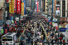 The busy crowds ambling through the streets of Shanghai will have you jostling for breathing space. Photo / Thinkstock