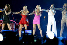 The Spice Girls perform at the closing ceremony of the 2012 London Olympics. Photo / AP