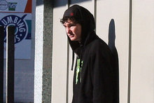 Dylan Terry outside the Masterton District Court. Photo / Wairarapa Times-Age
