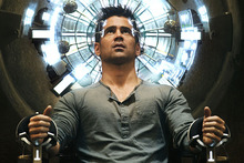 Colin Farrell in the new version of Total Recall. Photo / Supplied