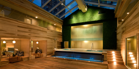 Spa facilities at THE OUT NYC. Photo / Supplied
