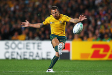 Quade Cooper has not had a happy time at Eden Park. Photo / Getty Images