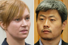 Kara Hurring and Leo Gao are being sentenced today. Photo / Janna Dixon