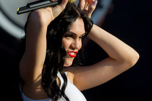 Jessie J is being credited for helping a young fan recover from a coma. Photo / AP