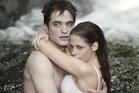 Kristen Stewart and Robert Pattinson in a Twilight Saga promotional poster. Photo / Supplied