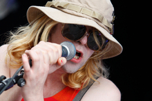 Ariel Pink performs at the Laneway Festival in 2011. Photo / Richard Robinson