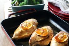 Poached Rangitikei chicken breast. Photo / Doug Sherring