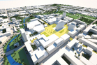 Plans for the Christchurch city rebuild. Photo / Supplied