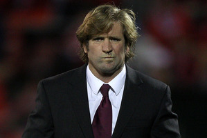 Bulldogs coach Des Hasler is one of the front-runners for the coaching position. Photo / Getty Images