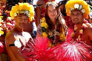 Laura Dekker was in Tahiti in July enroute to Whangarei. Photo / Supplied