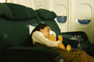 Some airlines prevent men sitting next to kids. Photo / Getty Images