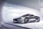 The Infiniti Emerg-e concept car.