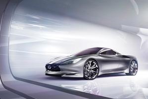 The Infiniti Emerg-e concept car.