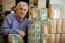 Geoff Arden is looking at licensing overseas firms to sell his products. Photo / Greg Bowker