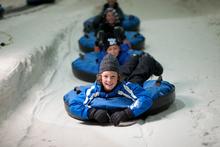 Snowtubing at Snowplanet. Photo / Paul Abbott