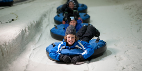 Snowtubing at Snowplanet. Photo / Paul Abbott