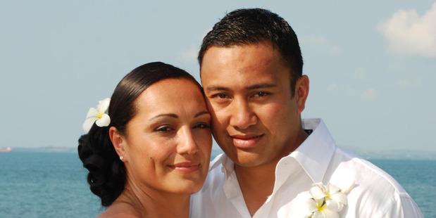 Kali Fungavaka on his wedding day. Photo / Supplied