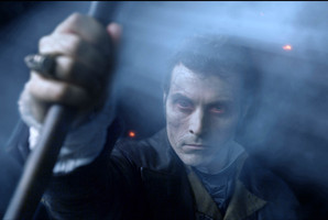 Rufus Sewell in a scene from ;Abraham Lincoln: Vampire Hunter.' Photo / Supplied
