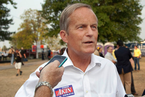 Missouri congressman Todd Akin. Photo / AP