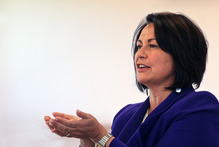 Education Minister Hekia Parata. Photo / Ben Fraser / Daily Post 