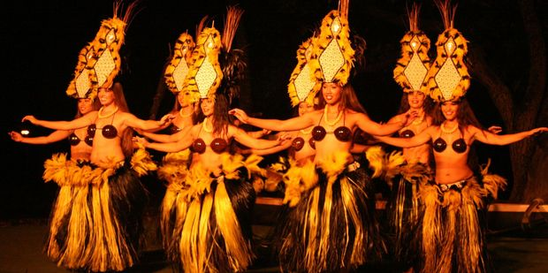 Hula dancers go through a range of motions which can tone and strengthen the core. Photo / Jim Eagles