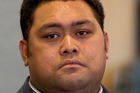 Kefu Ikamanu sits in the dock at the High Court in Auckland. Photo / Greg Bowker