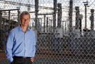 Patrick Strange, chief executive of electricity lines company Transpower, at the Penrose Substation, Auckland. Photo / Sarah Ivey