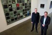 Gary Langsford (left) and John Gow. Photo / Sarah Ivey