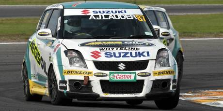 Suzuki Swift drivers will be racing as part of the six round V8 SuperTourer series in 2013 for the Suzuki Swift Sport Cup. Photo / Lance Hastie