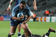 All Black prop Charlie Faumuina will boost a strong Auckland side for their ITM Cup opener against Hawkes Bay. Photo / Greg Bowker