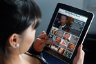 Kiwis are lagging the global average for tablet sales. Photo / Sarah Ivey