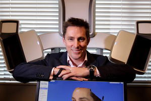 Tauranga plastic surgeon Adam Bialostocki is trialling ground-breaking technology which uses 3D imaging to digitally map patients' bodies. Photo / Alan Gibson