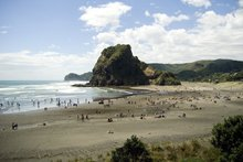Piha Beach. Photo / Jason Dorday