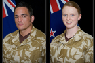The three New Zealand soldiers killed during an Improvised Explosive Device (IED) incident in the North East of Bamyan Province, Afghanistan. Photo / NZDF