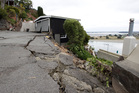 Subsidence as a result of an earthquake, on Clifton Terrace, Red Cliffs, Christchurch. Photo / File / Mark Mitchell