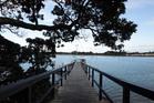 The wharf at Beach Haven. Photo / Janna Dixon