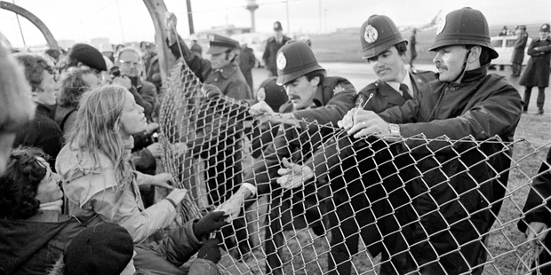 The South African rugby team's visit here in 1981 divided the nation and sparked often violent clashes between activists and the police. Photo / John Sefton