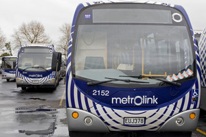 Bus services will likely be slowed by the strike action, which will see drivers strictly following protocol. Photo / NZPA