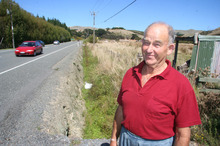 Part of the proposed Transmission Gully route State Highway 1 near  Pauatahanui, north of Wellington.