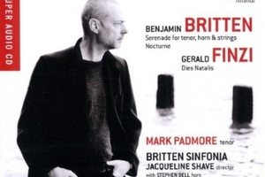 Britten/Finzi, with Mark Padmore.