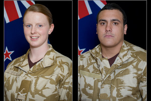 (L to R) Corporal Luke Tamatea (31), Lance Corporal Jacinda Baker (26) and Private Richard Harris (21), all killed in an IED explosion in Afghanistan. Photo / NZDF
