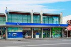 The BNZ Bank building for sale at 320 Broadway, Newmarket.